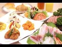 夏休み!新鮮な野菜や海の幸、お肉料理がい