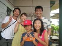夏休み家族旅行