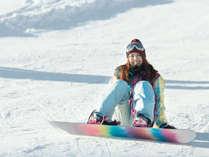 【冬季限定/朝食付】スキー場目の前!朝から晩までたっぷり遊べるお得な特典付♪