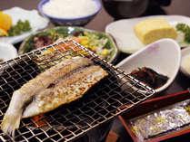 脂の乗った焼き魚が一日の始まり♪