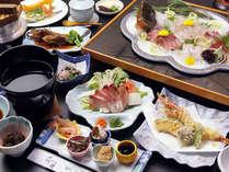 海鮮と釜飯をご堪能ください