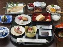 彩り鮮やかな和朝食をご用意/例