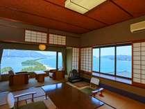 日本三景「天橋立」の絶景を望むことができる和室