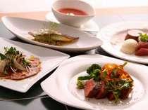 信州厳選素材と旬の素材を使った創作美食フルコース(メインはプレミアム牛)