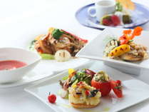 信州の食材を生かした創作美食フルコース