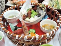 ≪梅コース≫真心込めたおもてなしと旬の魚介料理を堪能♪腹八分目海鮮会席【2食付】