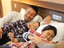 18歳以下添い寝無料。朝食も無料でご家族での旅行におすすめ♪