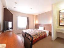 1ベッドルーム。(ベッド幅150cm)
