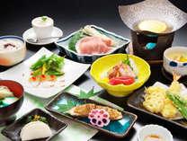 梅の膳一例 蛸のカルパッチョ風を含む全10品 厳選食材を堪能【H30年7月1日~同9月30日】