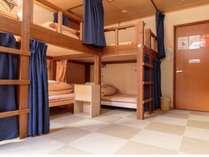 8ベッドミックスドミトリー(共用バス、トイレ)