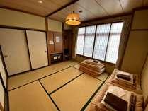 【素泊まり】和室8畳(バス、トイレ付)2~4名用