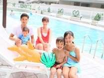 【★夏休み限定早割21★】最大30%OFF☆13時からプールでワイワイ♪縁日やバイキングも大満足☆