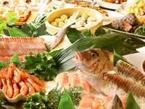 ★旬魚のお造りも食べ放題♪