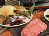 【贅沢よくばりBBQ】和牛も海鮮も両方楽しめる!1泊2食プラン