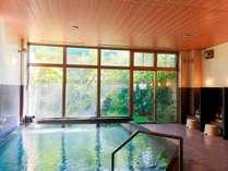 大浴場源泉掛け流し100%の良質天然いで湯