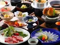 料理長イチオシ!牛肉のステーキと城下かれいを味わう!【料理長おすすめプラン】