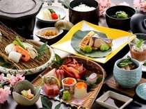 宿イチオシ!春の彩りプラン【お魚コース 4・5月】
