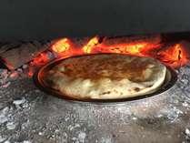 チーズ蜂蜜ピザ