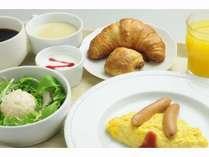 ブッフェ形式の洋朝食をご用意
