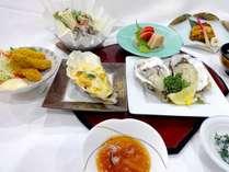 【特別会席】三陸産の大粒・濃厚な牡蠣を使用!生牡蠣会席プラン【夕食・朝食付き】
