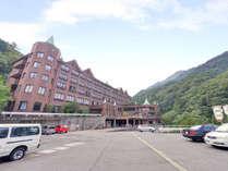 *【ホテル外観】ヨーロッパの宮殿を思わせる落ち着いた外観