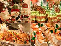 【12/22、23限定】イルミネーションで彩られたホテルで過ごす・・・★クリスマスディナーブッフェプラン★