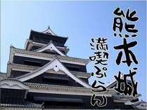 ◆日本三名城◆熊本城満喫ぷらん♪【朝食付】
