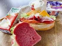 朝食サンドイッチ☆朝から美味しく!※画像はイメージです。