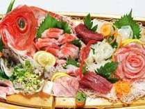 獲れたて天然地魚♪豪華舟盛り付磯料理プラン!