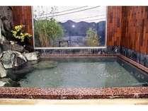 風呂②展望風呂です。子浦湾の景色をお楽しみください。