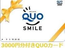 【ビジネス応援×素泊まり】 QUOカード3000円付きプラン