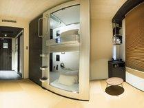 Room in Capsule Twin(カプセル2台)