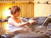 トロットロの温泉が美肌効果UP!お風呂付客室で温泉三昧はいかがですか?