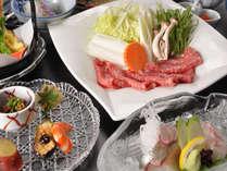 【人気No1】料理長おすすめ☆『すきしゃぶ』満喫●料理が美味しい!クチコミ人気旅館●
