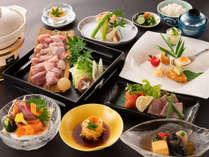 有田鶏の水炊き会席イメージ