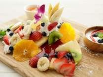 【朝食[Breakfast]】 パンケーキプレート*Pancake Plate*