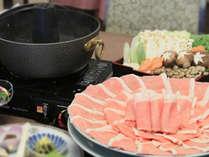 【当館人気】国産豚ロースしゃぶしゃぶと焼き魚&小鉢膳♪十和田湖グランドホテル湖畔スタンダードプラン