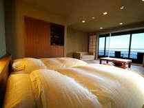二階棟2階:自然を感じながら眠りにつく事も旅の楽しみの一つです。