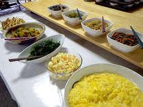 *朝食バイキング一例/ひとつひとつ丁寧に調理(#^.^#)※和定食の場合もございます。