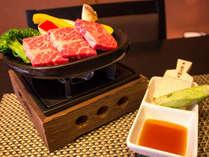 静岡産和牛陶板焼き