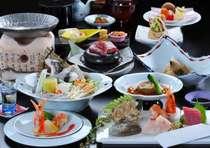 日本三古湯の天然温泉と当宿自慢の料理を楽しむ 冬の【千畳プラン♪】