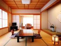 和室12畳+応接間付【琥珀-kohaku】