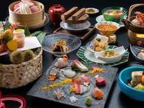 【お料理重視の方へ♪秋の上質食材を堪能】A4村上牛に日本海の海鮮など、新潟の味覚を贅沢に■逸品会席