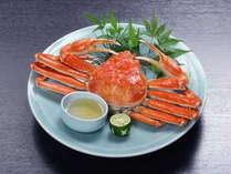 【ズワイ蟹一匹付きプラン】蟹好きの方は必見!!お一人様に一匹のズワイ蟹が付きます♪