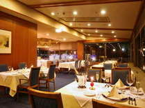 フレンチレストラン「ベルビュー」でロマンチックなひと時を・・
