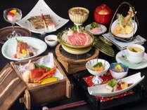 厳選食材を使用し、手間をかけ繊細に作り込まれた会席料理