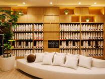 素材や高さ・固さが異なる22種類の枕を選べる枕コーナーも
