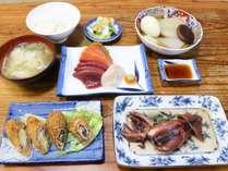 *夕食/北海道ならではの海の幸も♪