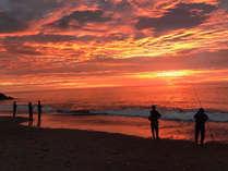 *【釣り】釣りと一緒に広尾町の海の美しい景色もお楽しみください。