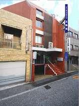 ビジネスホテル三幸荘外観